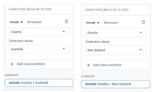 Configure Segment Comparison in App + Web